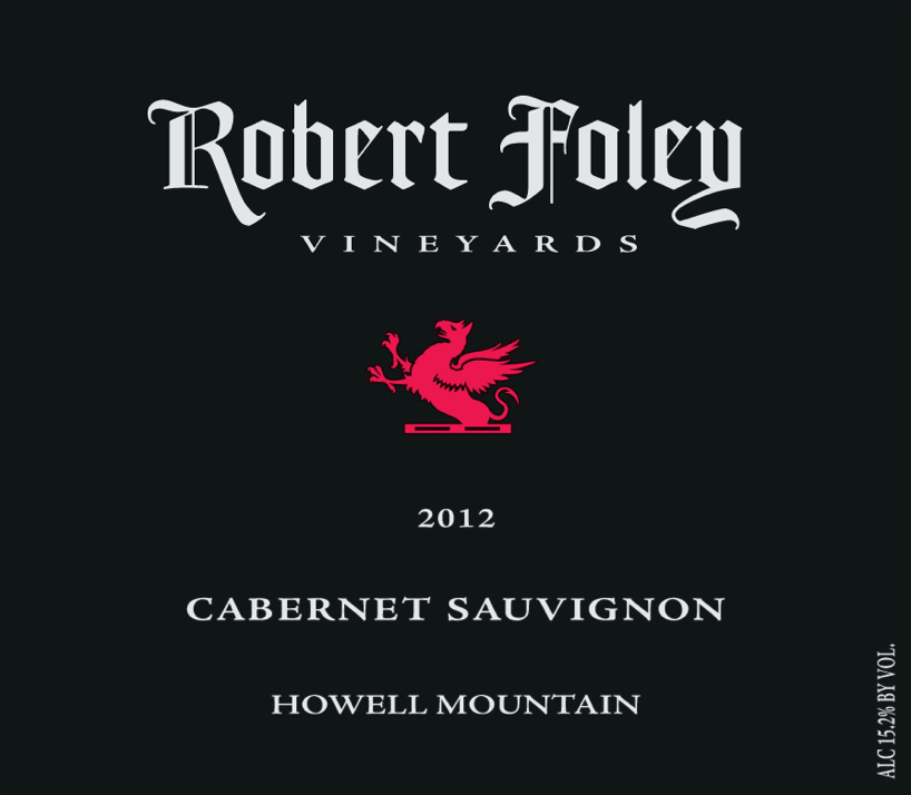 LIBRARY: Cab Sauv (Howell Mountain) 2012 - 1.5L