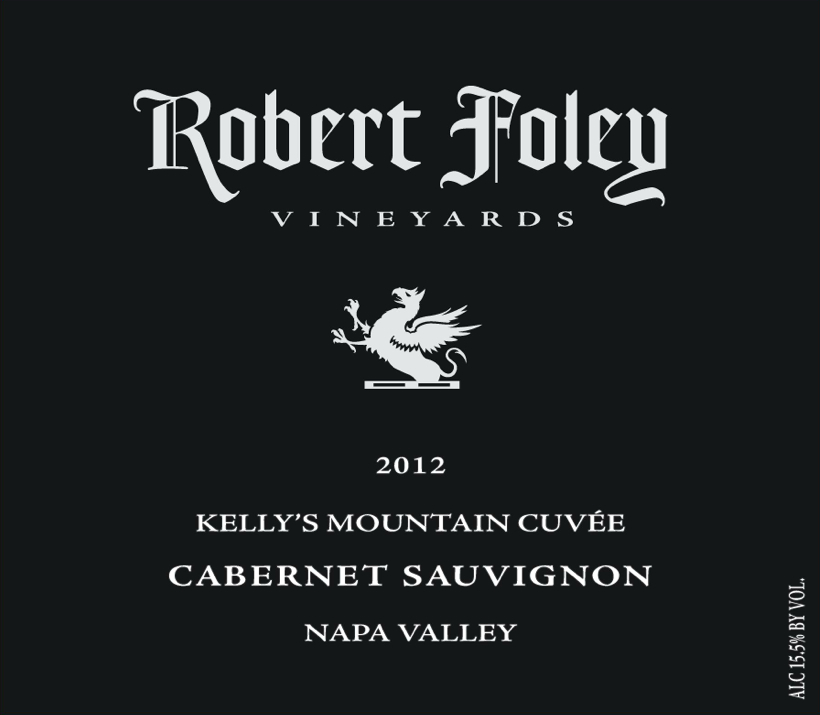 LIBRARY: Cab Sauv  (Kelly's Mountain) 2012 - 1.5L