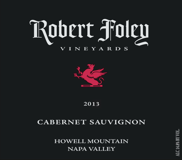 LIBRARY: Cab Sauv (Howell Mountain) 2013 - 1.5L
