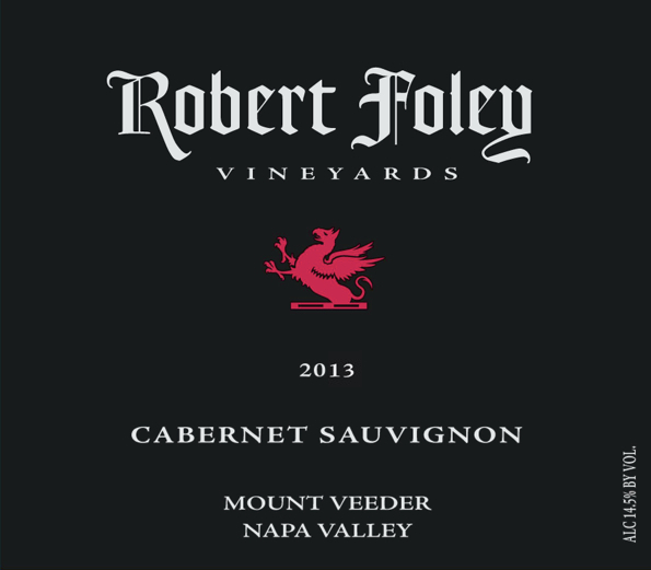 LIBRARY: Cab Sauv (Mount Veeder) 2013 - 1.5L